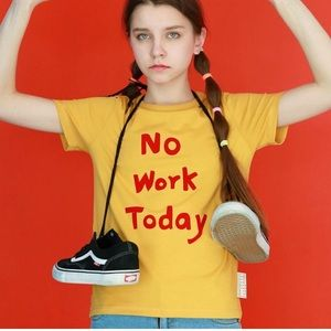 """No Work Today"" Graphic Tee"